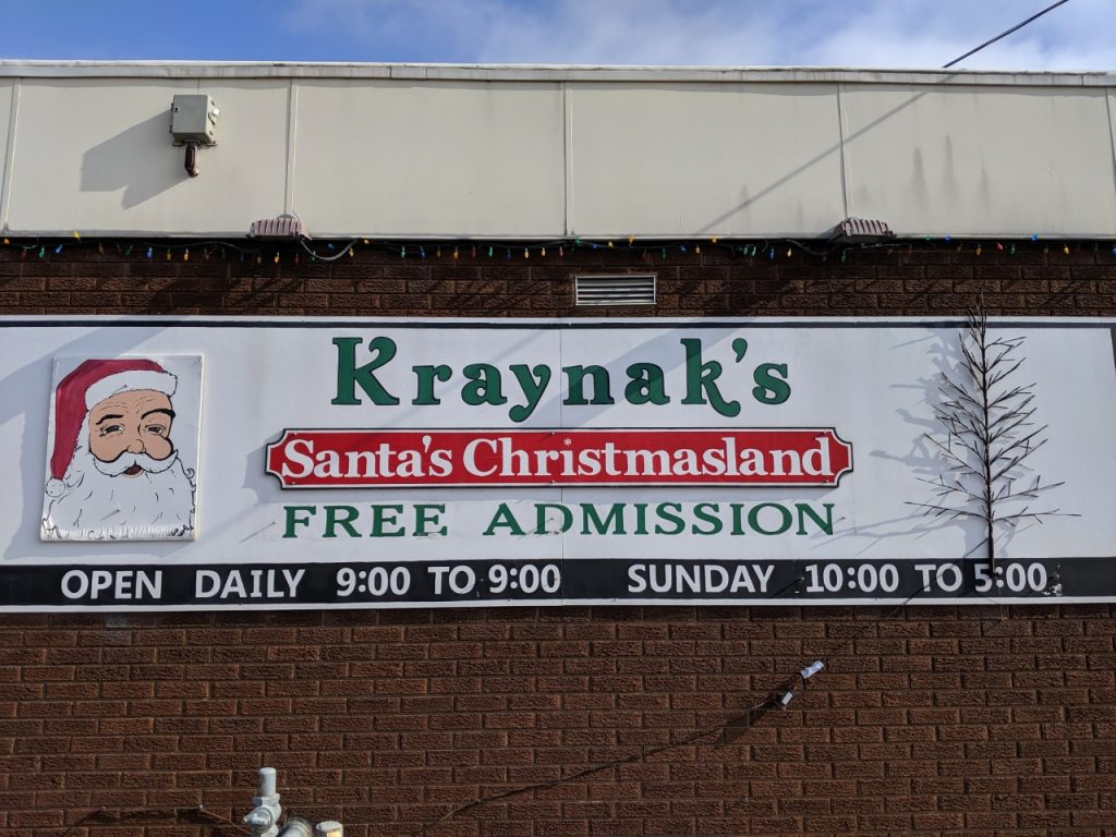 Kraynak's Christmasland: A Holiday Tradition